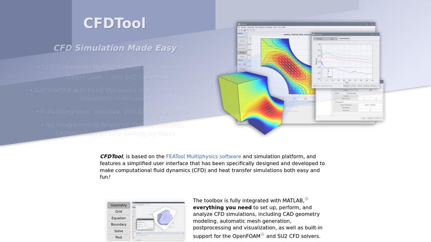 CFDTool Landing Page