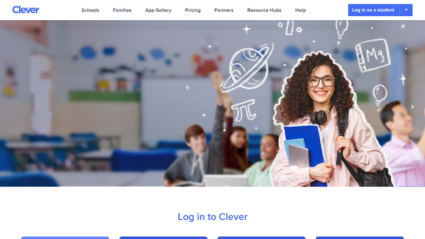 Clever.com Landing Page