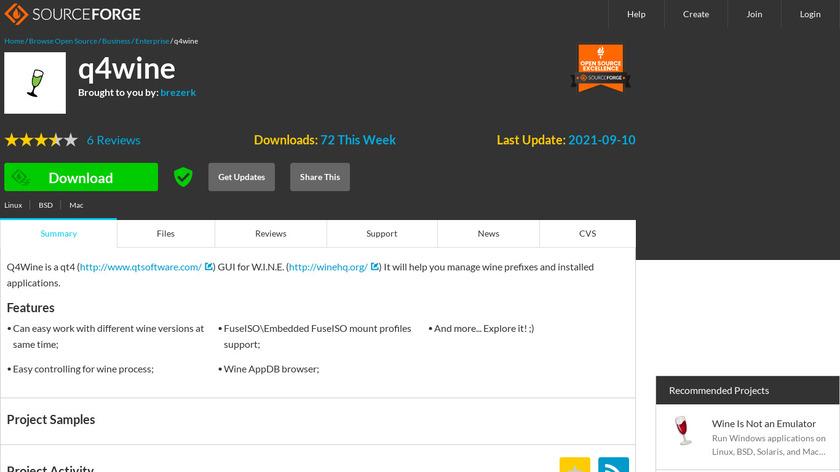 Q4wine Landing Page