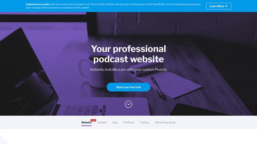 Podsites Landing Page