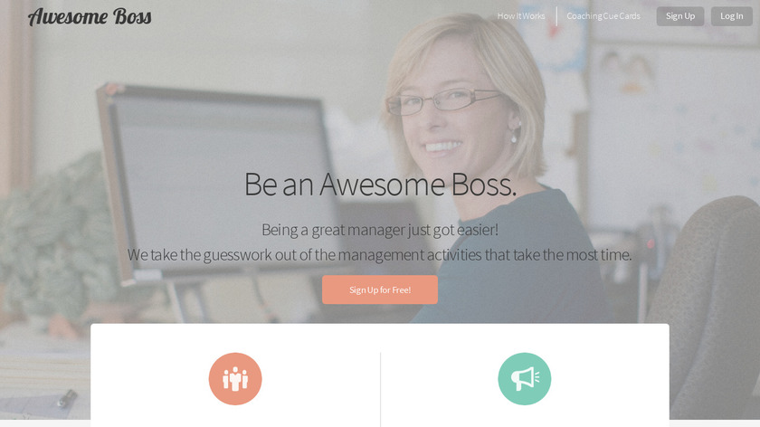 Awesome Boss Landing Page