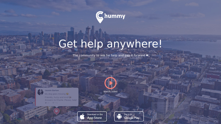 Chummy Landing Page