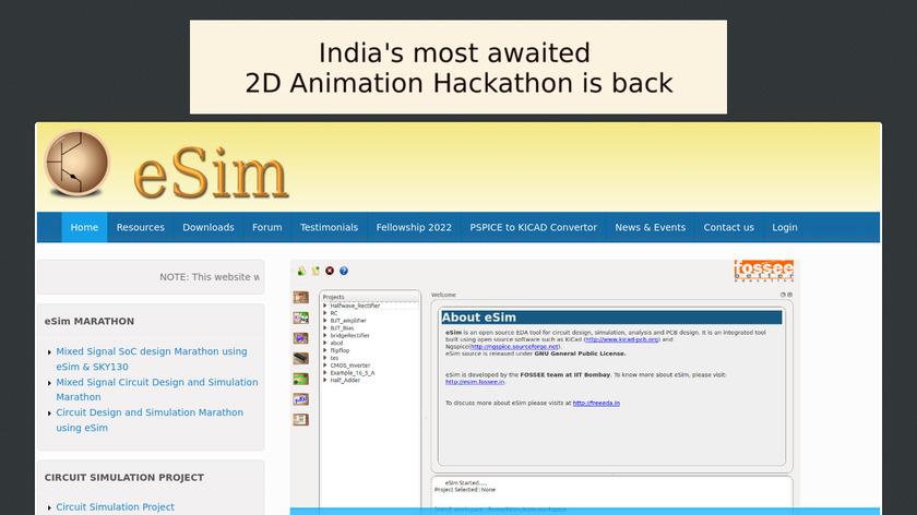 eSim Landing Page