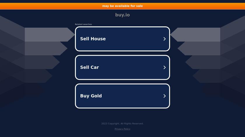 Buy.io Landing Page