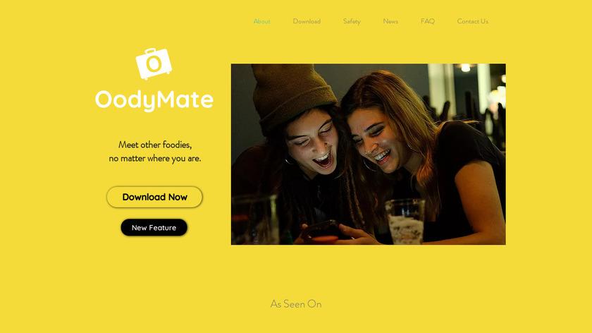 OodyMate Landing Page