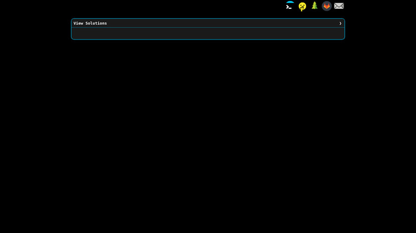 Commandline Challenge Landing Page