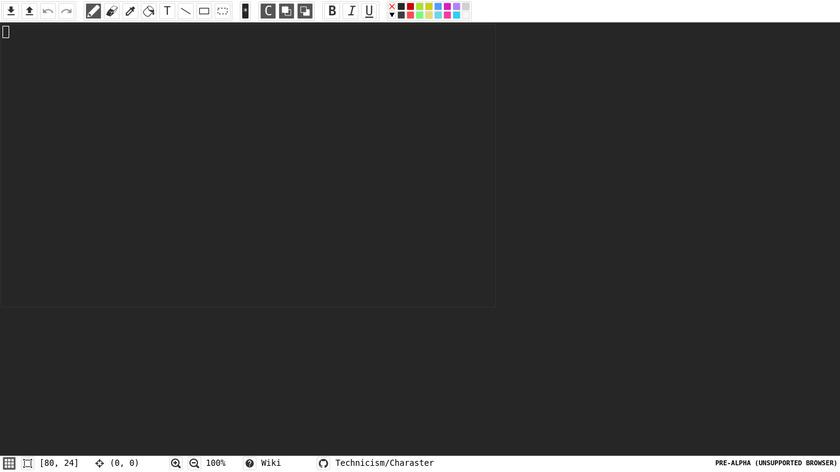 Charaster Landing Page