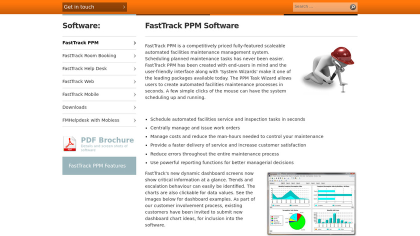 FastTrack PPM Landing Page