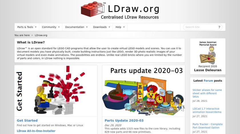 LDraw Landing Page
