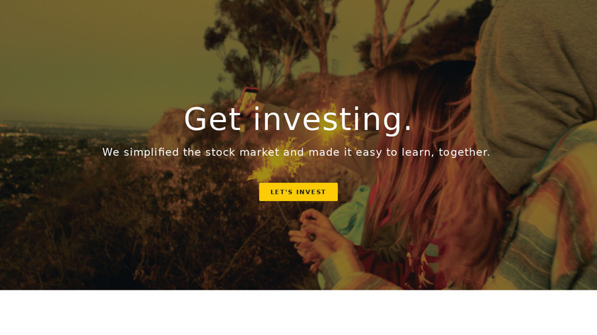 Grain - Invest with Friends Landing Page