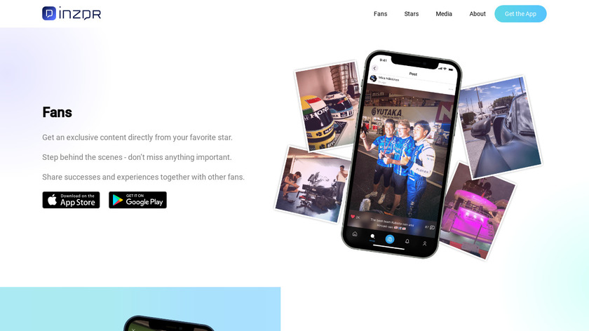 iNZDR Landing Page