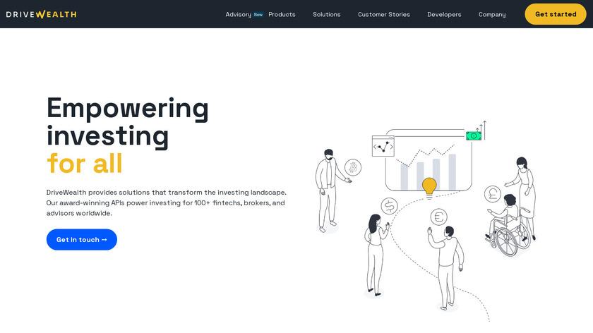 DriveWealth Landing Page