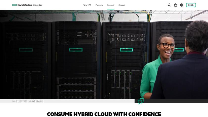 CloudCruiser Landing Page