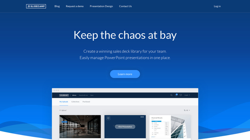 SlideCamp Landing Page