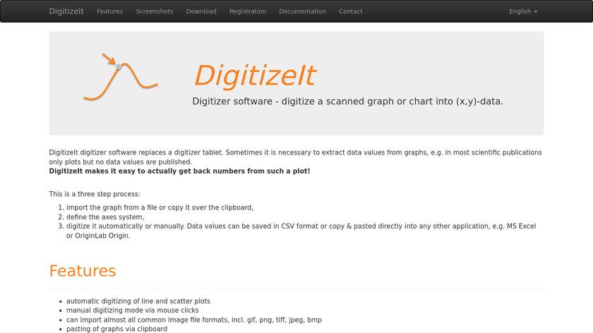 DigitizeIt Landing Page