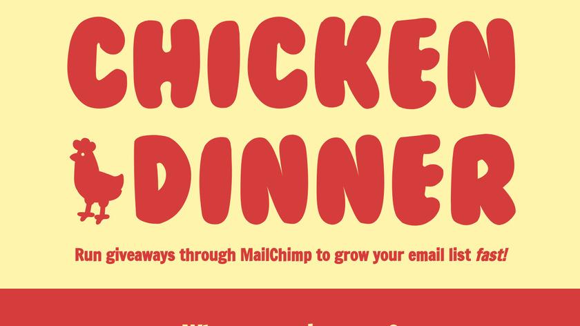 Chicken Dinner Landing Page