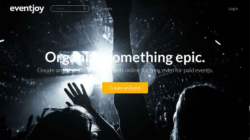 Eventjoy Landing Page