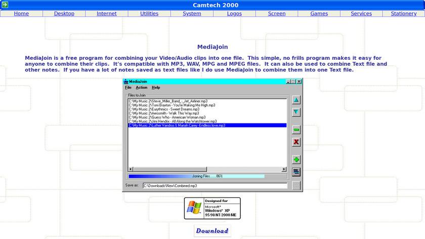 MediaJoin Landing Page