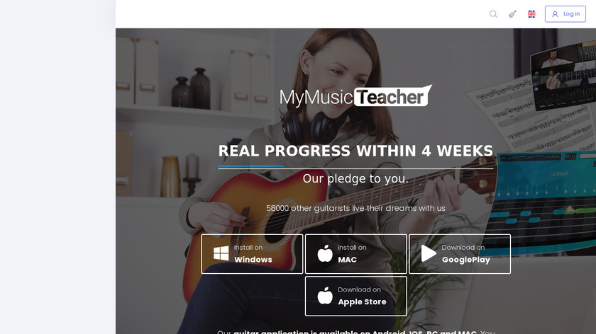 MyMusicTeacher Landing Page