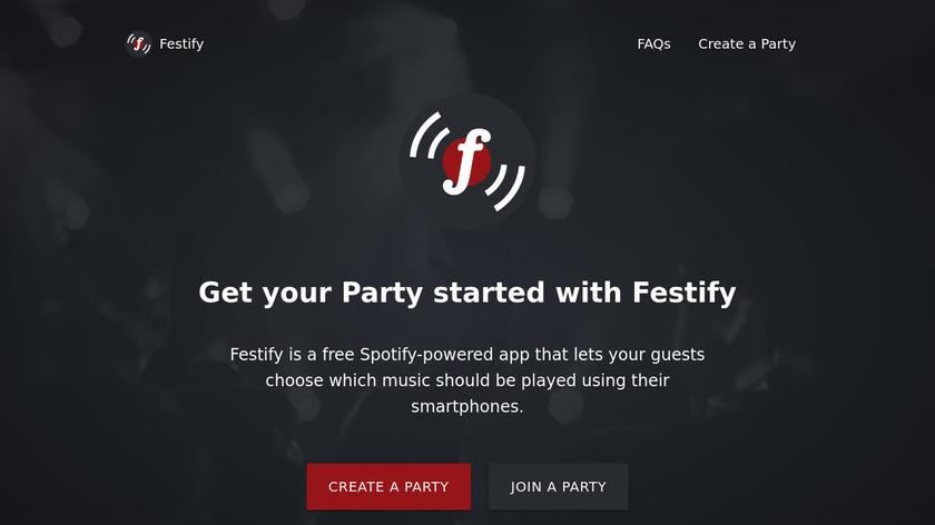 Festify Landing Page