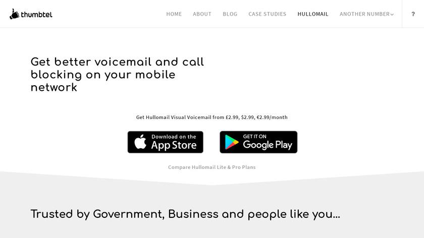 HulloMail Landing Page