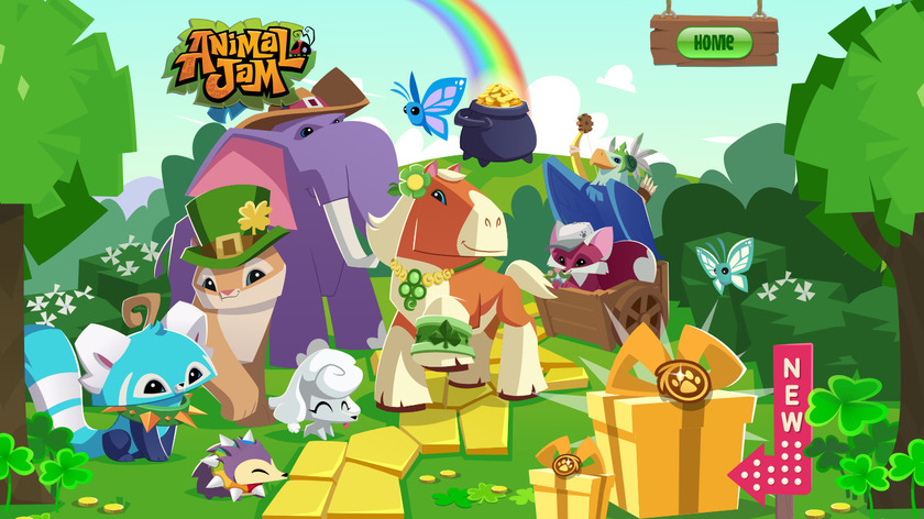Animal Jam Landing Page