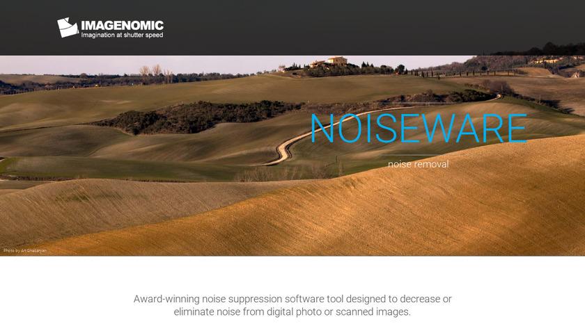 Noiseware Landing Page