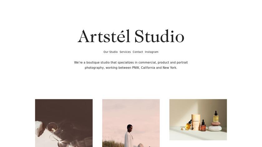 Artstel Landing Page