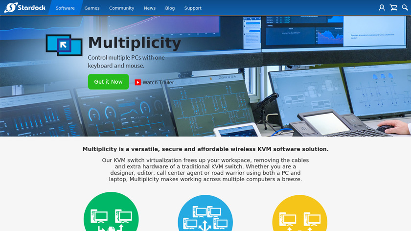 Multiplicity Landing Page