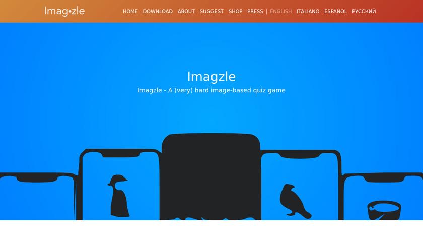 Imagzle Landing Page