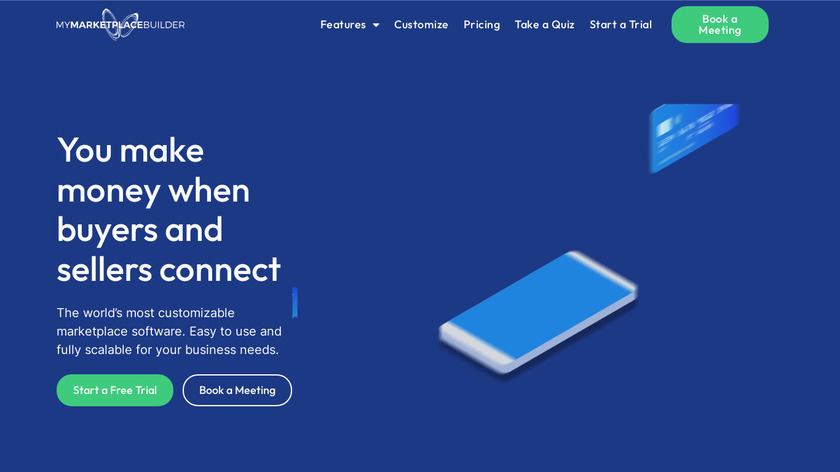 My Marketplace Builder Landing Page
