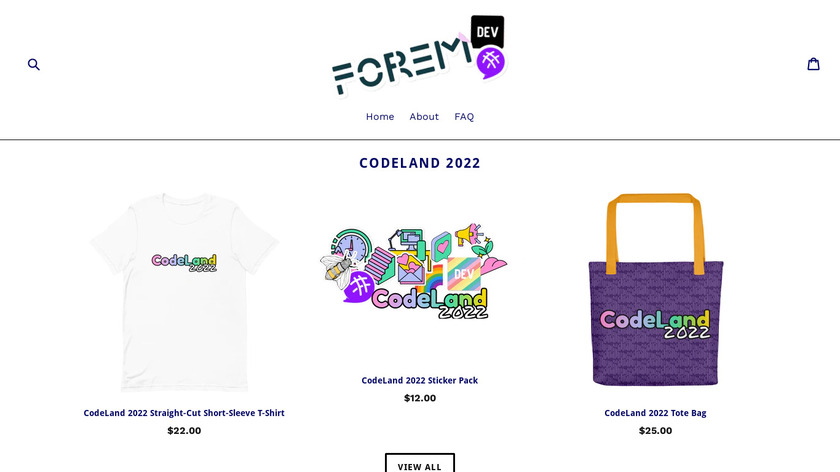 The Practical Dev Shop Landing Page
