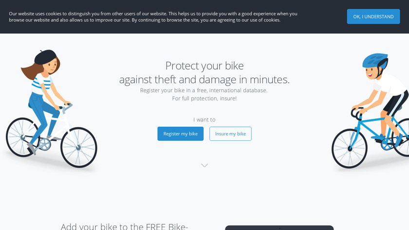 Bike-ID Landing Page
