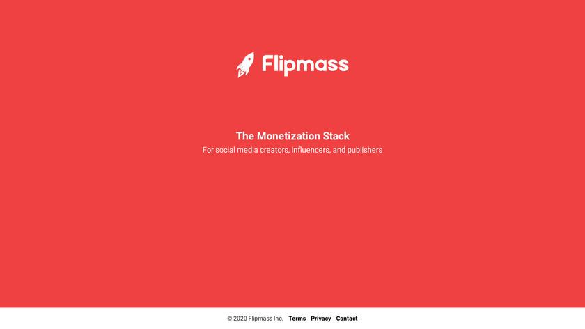 Flipmass Landing Page