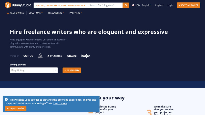ArticleBunny Landing Page