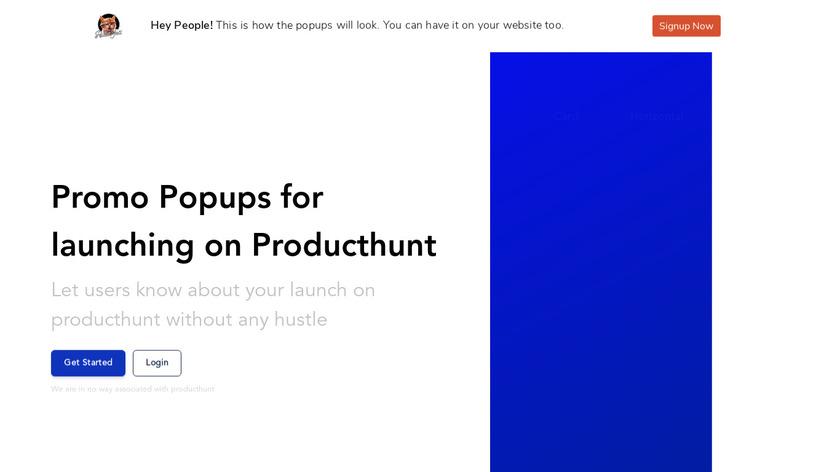Popups Landing Page