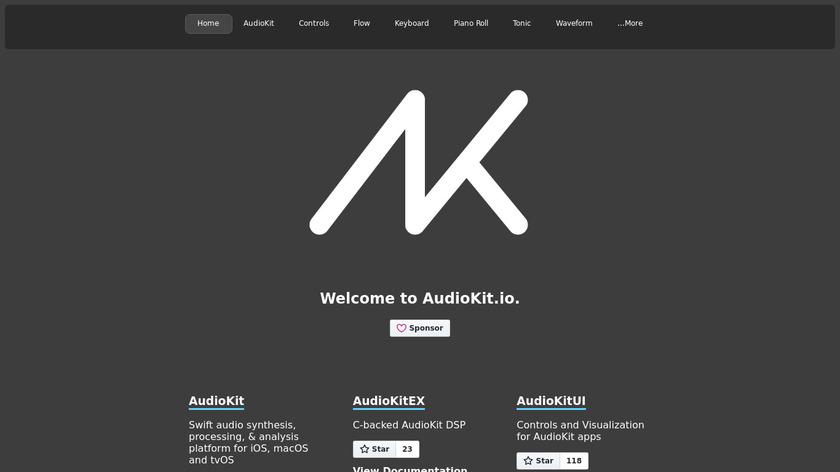 AudioKit Landing Page