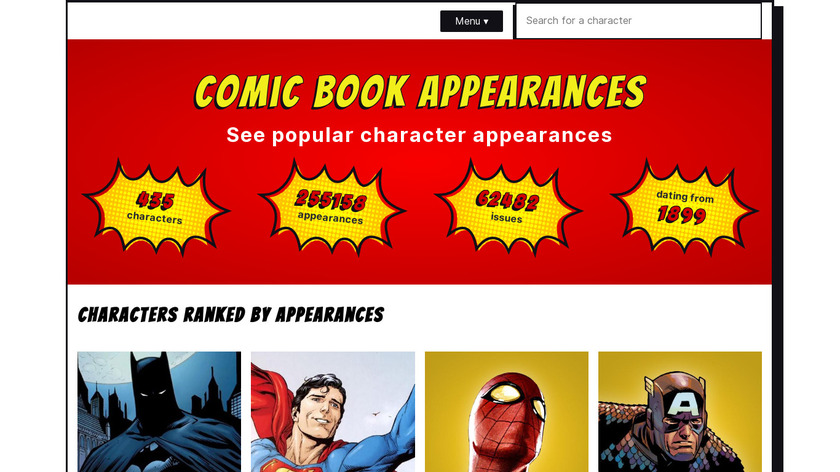 Comic Cruncher Landing Page