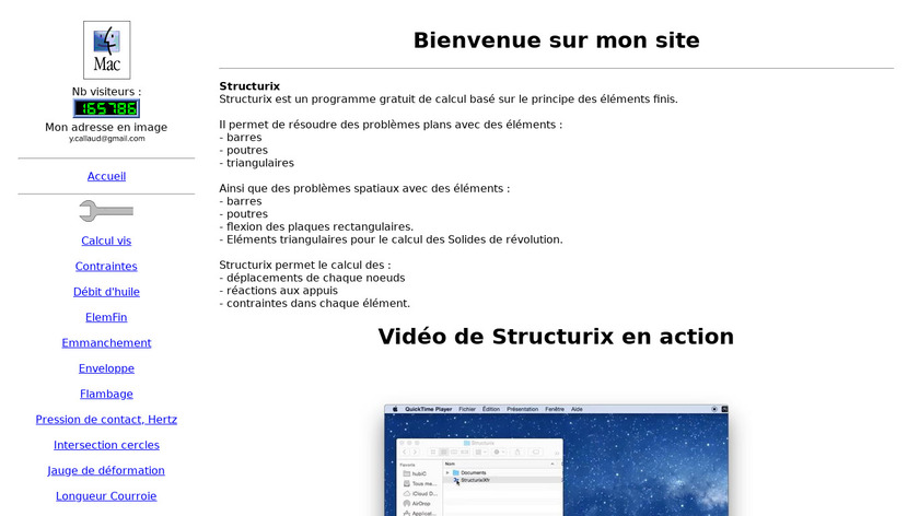 Structurix Landing Page