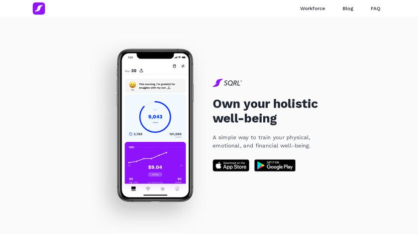 SQRL Landing Page