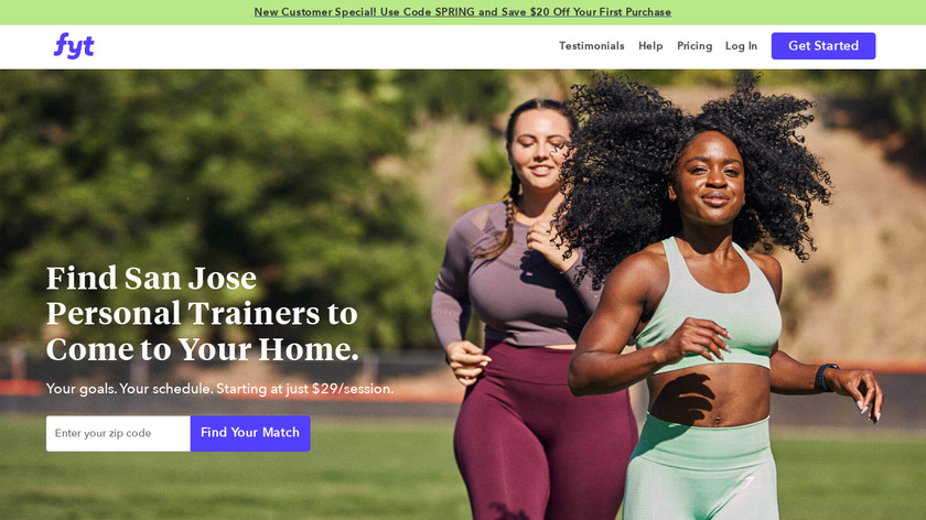Find Your Trainer Landing Page