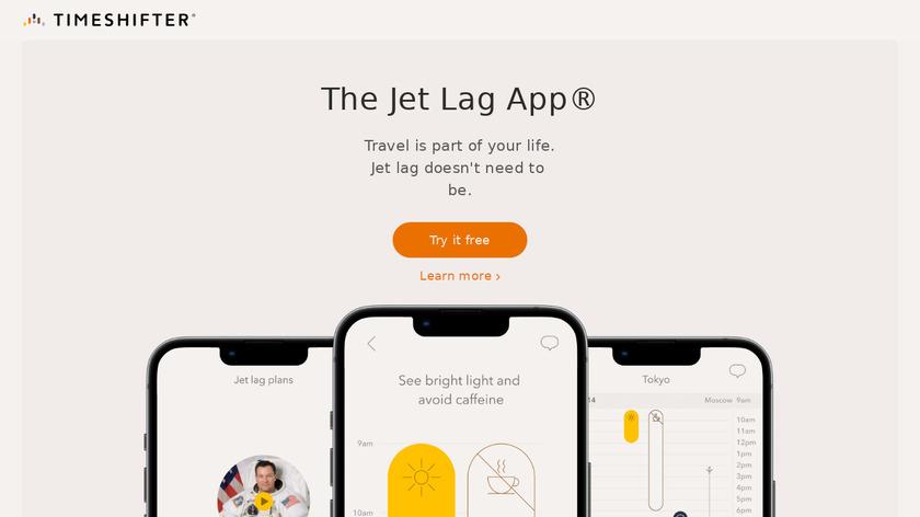 Timeshifter Landing Page