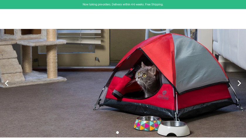 Cat Camp Landing Page