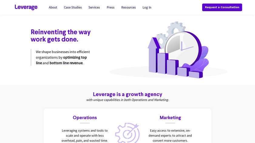 Leverage Landing Page
