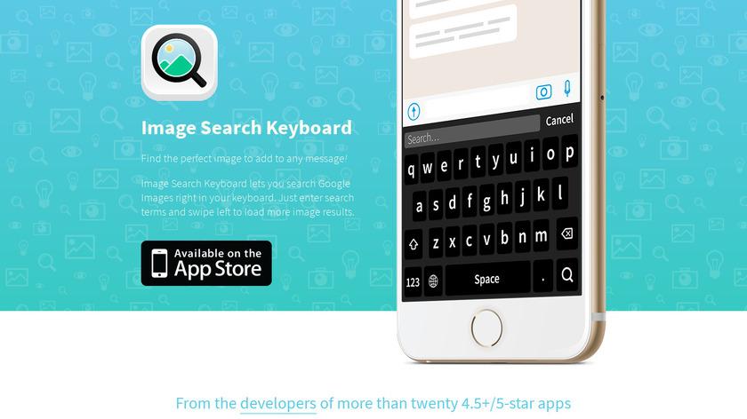 Image Search Keyboard Landing Page