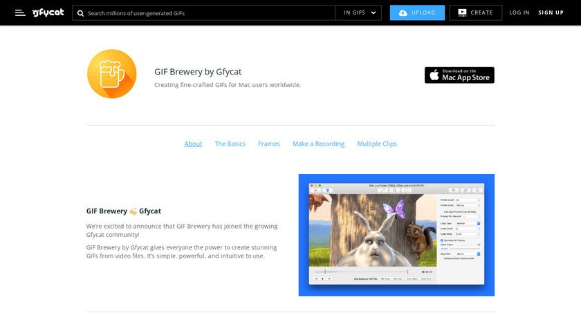 GIF Brewery by Gfycat Landing Page