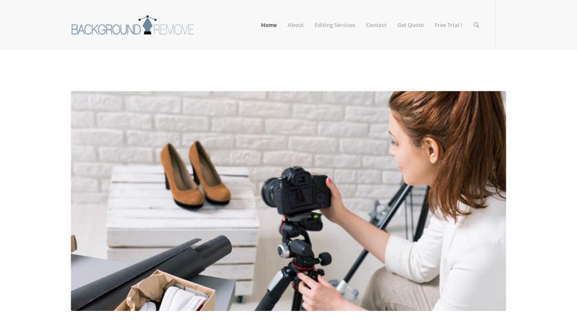 BackgroundRemove.photos Landing Page
