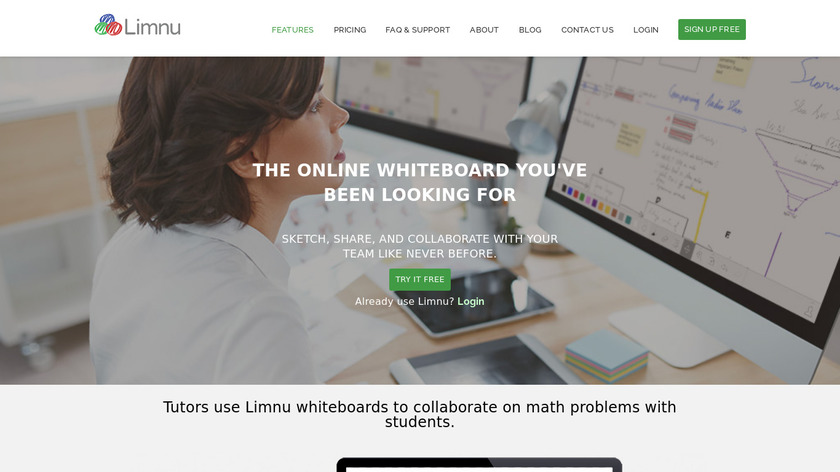 Limnu Landing Page