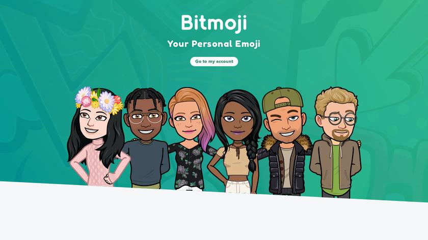 Bitmoji Landing Page
