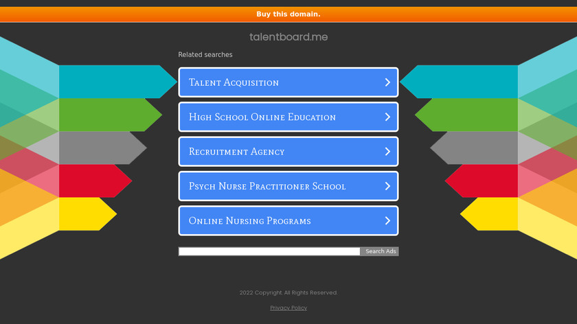Talentboard Landing Page